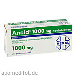 ANCID 1000 mg Kautabl. / 50 St