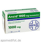 ANCID 1000 mg Kautabl. / 100 St