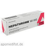 HEPATHROMB Creme 60 000 I.E. / 150 g