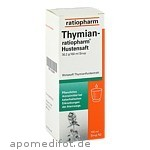 THYMIAN RATIOPH HUSTENSAFT - 100 ML