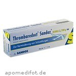 THROMBAREDUCT Sandoz 30 000 I.E. Gel / 100 g