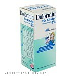 DOLORMIN F KINDER IBUPR 4% - 100 ML