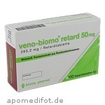VENO BIOMO retard 50 mg Tabl. / 100 St