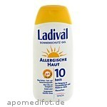 LADIVAL ALLERG HAUT LSF 10 - 200 ML