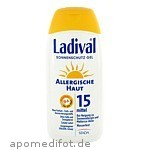 LADIVAL ALLERG HAUT LSF 15 - 200 ML