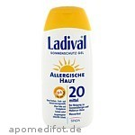 LADIVAL ALLERG HAUT LSF 20 - 200 ML