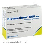 BIOMO LIPON 600MG - 10 ST