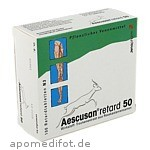 Produktbild: AESCUSAN retard 50 Tabletten / 100 St