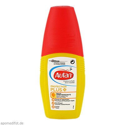 Autan Protection Plus Pumpspray 100 ml, SK Pharma Logistics GmbH