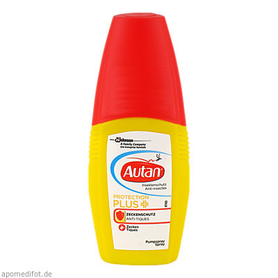 Autan Protection Plus Zeckenschutz Pumpspray 100 ml, SK Pharma Logistics GmbH
