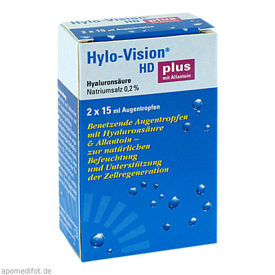 HYLO-VISION HD plus 2X15 ml, Omnivision GmbH