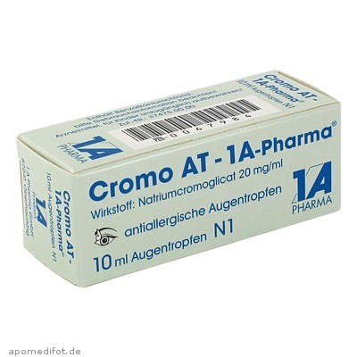 Cromo AT-1A-Pharma 10 ml, 1 A Pharma GmbH