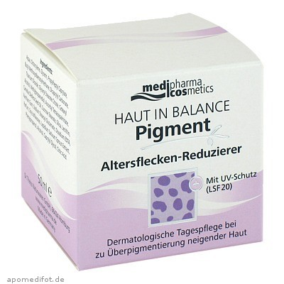 Haut in Balance Pigment Altersfleck.Reduzier-Creme 50 ml, Dr. Theiss Naturwaren GmbH