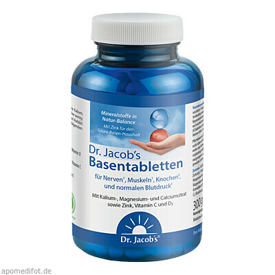 Basentabletten Dr. Jacob's 250 St., Dr.Jacobs Medical GmbH