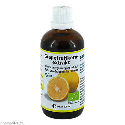 Grapefruitkernextrakt-Bio 100 ml, Sanitas GmbH & Co. KG