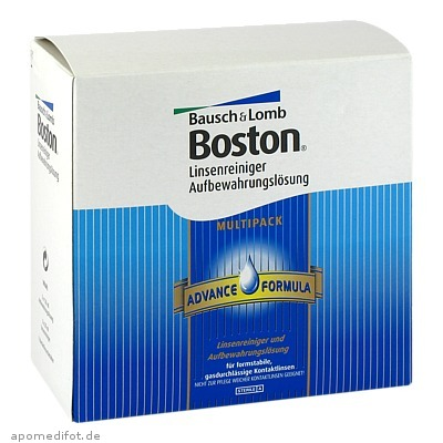 Boston Advance Multipack 3x120ml Aufbew+3x30ml Rei 1 St., BAUSCH & LOMB GmbH Vision Care