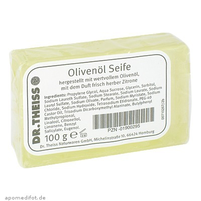 Dr. Theiss Olivenöl-Seife 100 g, Dr. Theiss Naturwaren GmbH