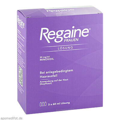 Regaine Frauen 3X60 ml, Johnson & Johnson GmbH (Otc)
