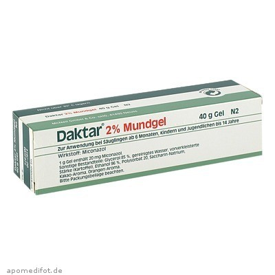 Daktar 2% Mundgel 40 g, Johnson&Johnson Gmbh-Chc