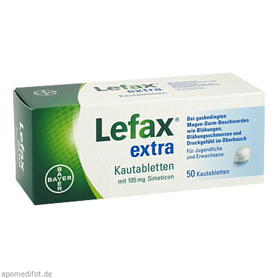 Lefax extra 50 St., Bayer Vital GmbH