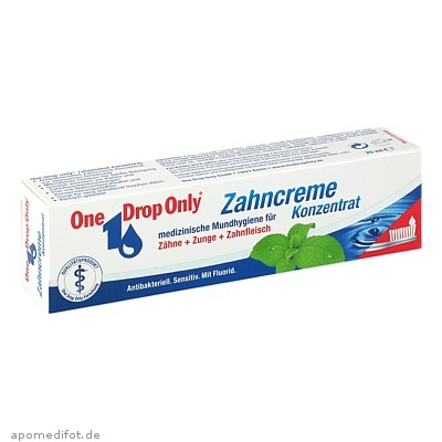 One Drop Only Zahncreme Konzentrat 25 ml, One Drop Only Chem.-Pharm. Vertr. GmbH