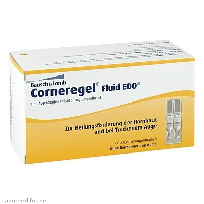Corneregel Fluid EDO 60X0.6 ml, Dr. Gerhard Mann
