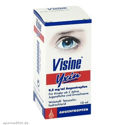 Visine Yxin 10 ml, Johnson&Johnson Gmbh-Chc