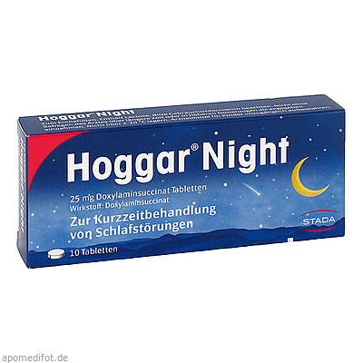 HOGGAR Night Tabletten 10 St., STADA GMBH