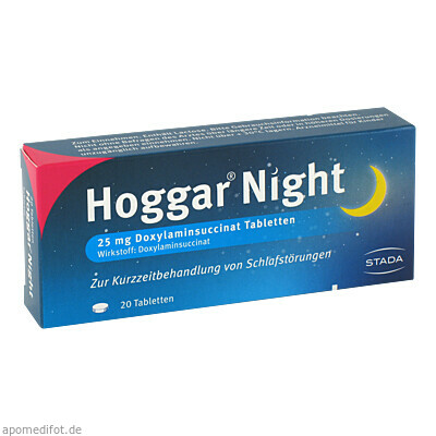 HOGGAR Night Tabletten 20 St., Stada GmbH