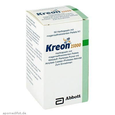 KREON 25000 50 St., Mylan Healthcare GmbH