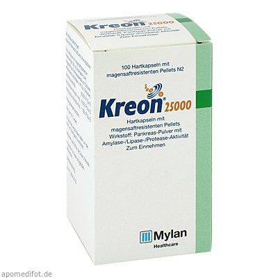 KREON 25000 100 St., Mylan Healthcare GmbH