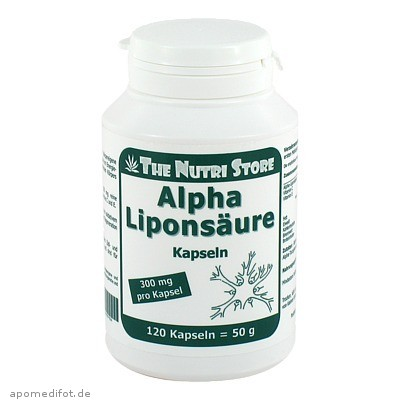 Alpha Liponsäure 300mg 120 St., Hirundo Products