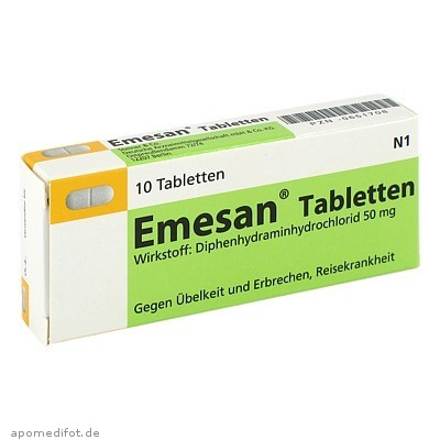 Emesan Tabletten 10 St., Steiner & Co.