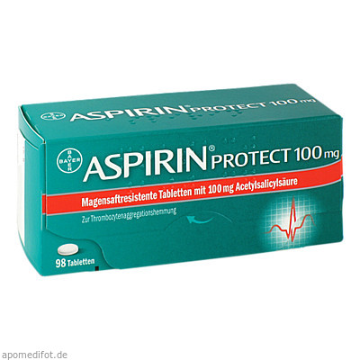 Aspirin protect 100mg 98 St., Bayer Vital GmbH GB Pharma