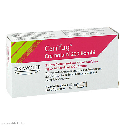 Canifug Cremolum 200 3+20 g 1 Pck., Dr. August Wolff GmbH & Co. KG Arzneimittel