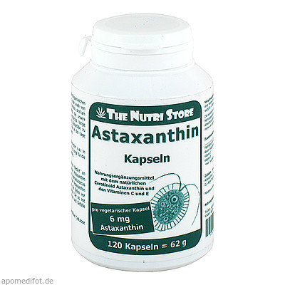 Astaxanthin 6mg vegetarische 120 St., Hirundo Products