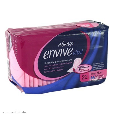 Always Envive Vital Liner Plus 22 St., Procter & Gamble GmbH