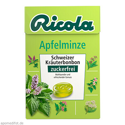 Ricola oZ Box Apfelminze 50 g, Queisser Pharma GmbH & Co. KG