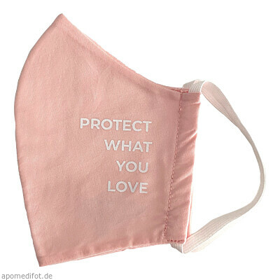 Bio Mund Nasen Maske Protect What You Love pink 1 St., PHYNE GmbH