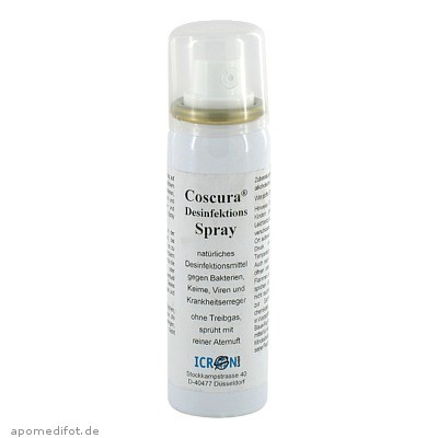 Desinfektionsspray Coscura 50 ml, Axisis GmbH