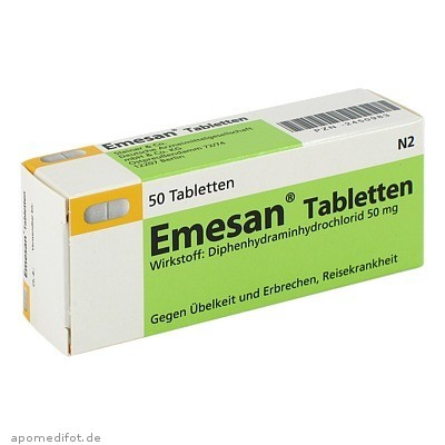 Emesan Tabletten 50 St., Steiner & Co.