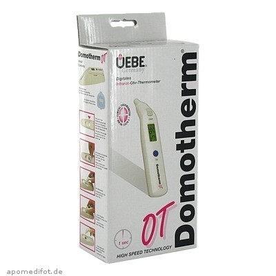 Domotherm OT Infrarot-Ohrthermometer 1 St., Uebe Medical GmbH