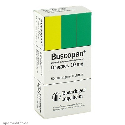 Buscopan Dragees 50 St., Abis-Pharma