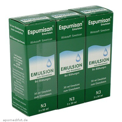 ESPUMISAN EMULSION 3X30 ml, Berlin-Chemie AG