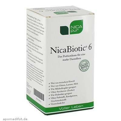 NICApur NicaBiotic 6 60 g, Nicapur Supplements GmbH & Co. KG